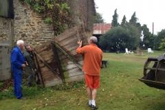 vieille porte étable